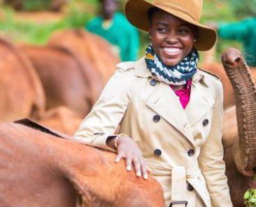 0107 30242 ambassadrice de l organisation wildaid l actrice lupita nyongo protege les elephants l