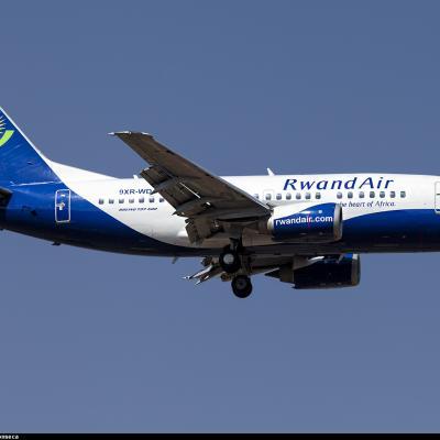 9xr wd rwandair boeing 737 500 planespottersnet 317083