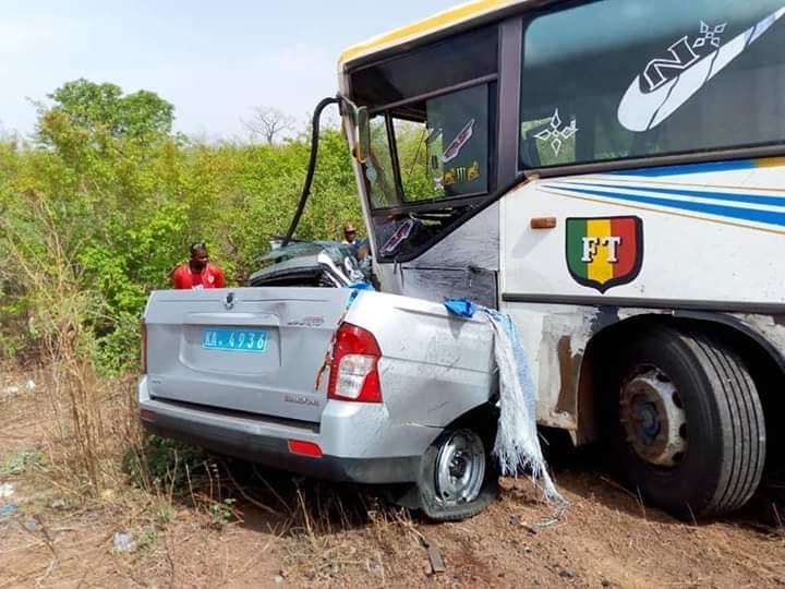 Les accidents de la route ont coûté la vie à 663 personnes en 2019 au Mali