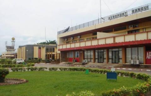 Aéroport de Bangui(Centrafrique)