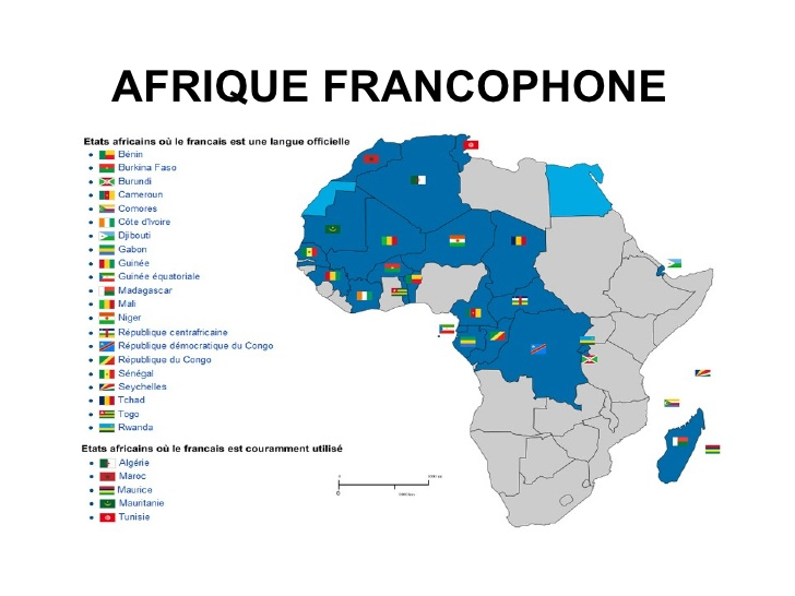 Afrique francophone 1 728