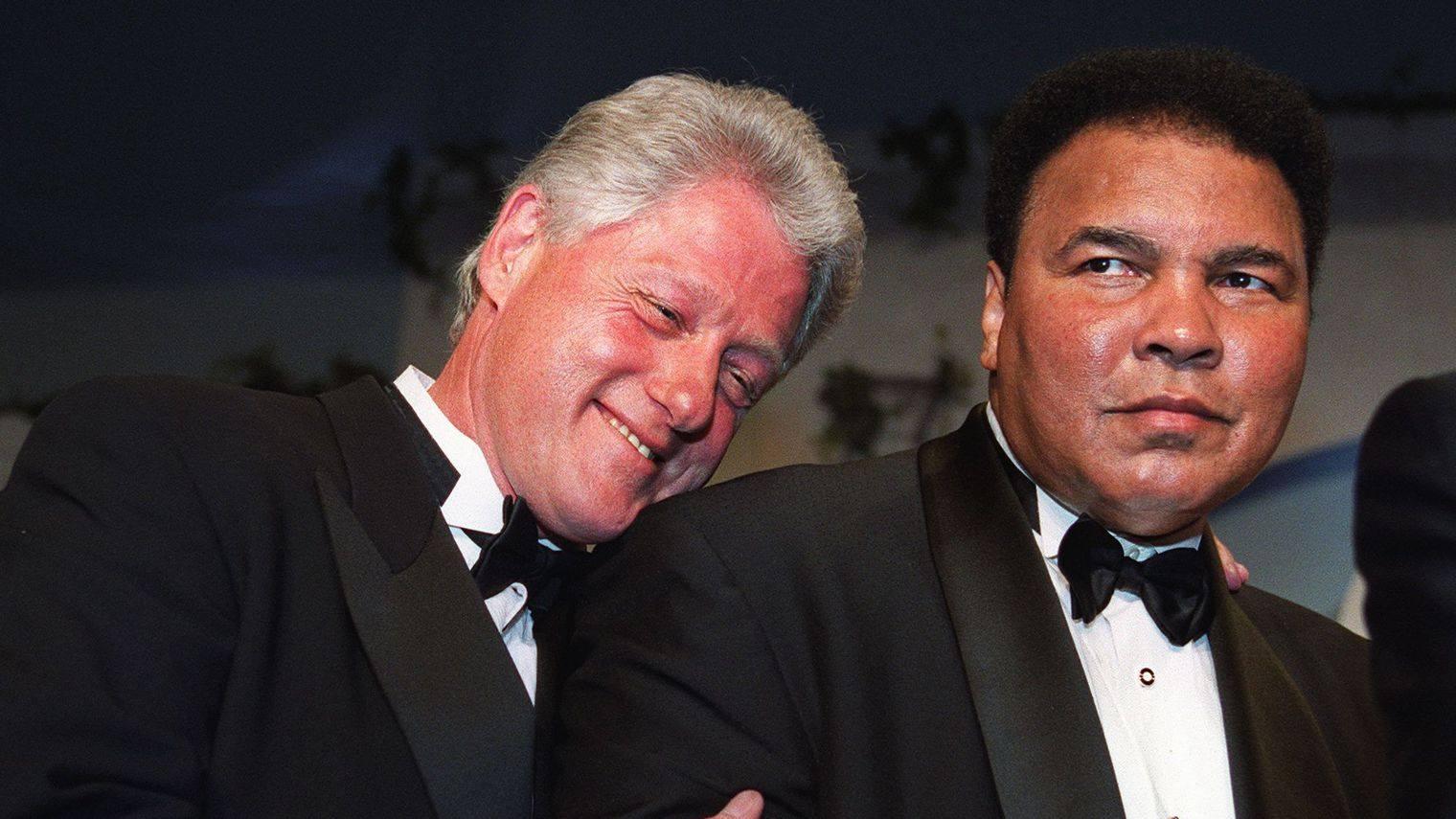 Ali et clinton