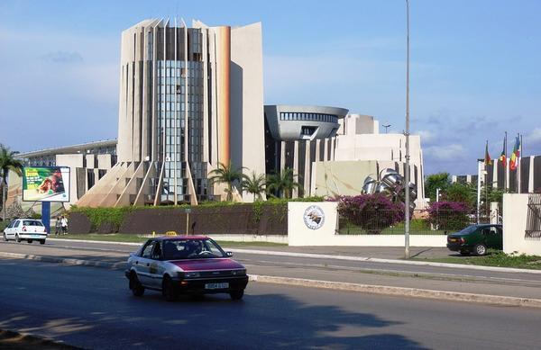 Avenue Jean Paul II(Libreville Gabon)