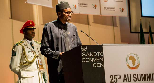 Buhari speech au summit