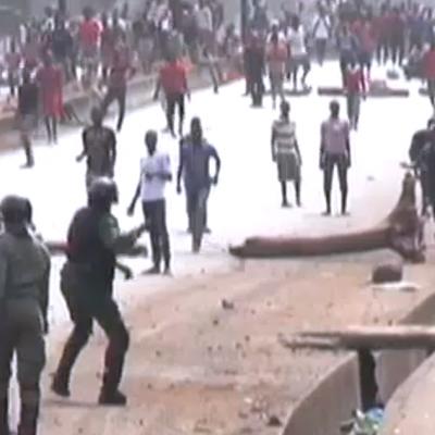 Tension en guinée