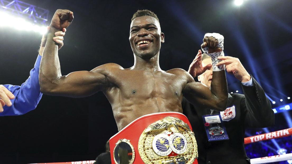 Le président ghanéen félicite Commey pour son titre international de poids léger