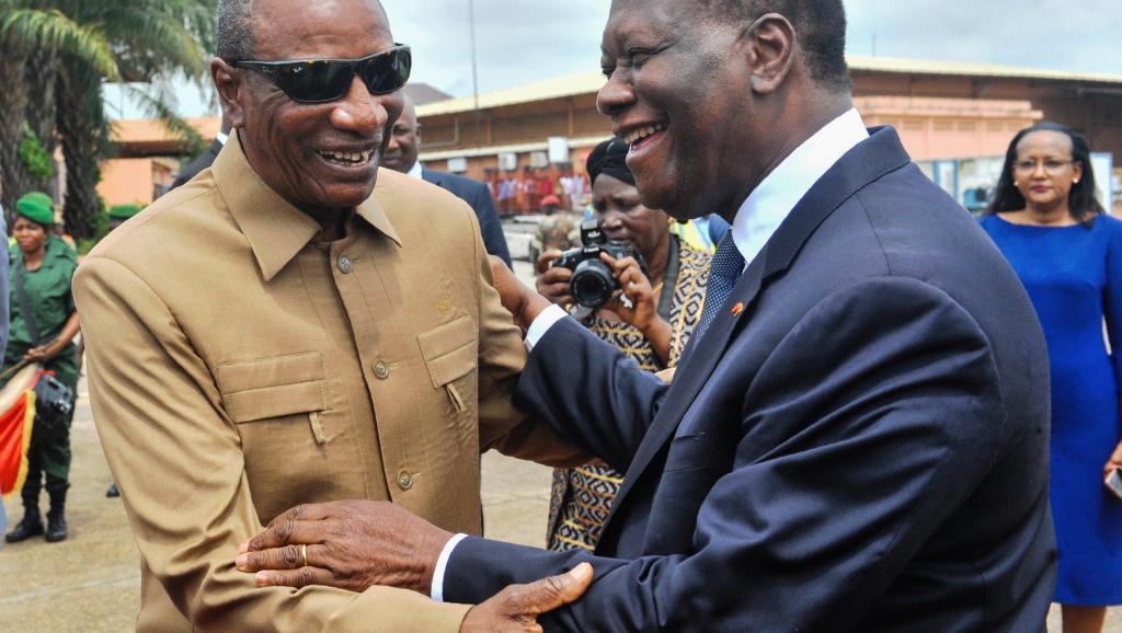 """Guinée : le président guinéen salue les relations de """"bon voisinage"""" avec la Côte d'Ivoire"""