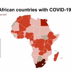 Le nombre de décès dus au coronavirus s'élève à 146, les cas confirmés à 4.760 dans 46 pays (CDC Afrique)
