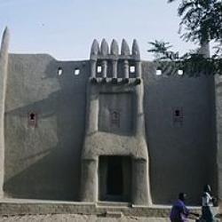 Façade d'une maison(Djénné Mali)