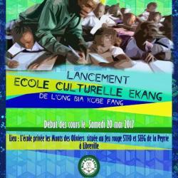 L'ONG BIA KOBE FANG lance son école culturelle de langue Fang