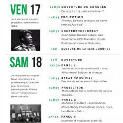 Centenaire du premier Congrès Panafricain