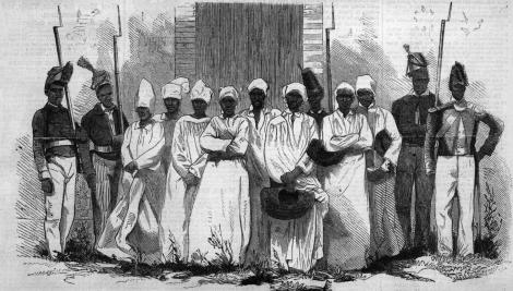 Harpers weekly haiti voodoo executions 1864