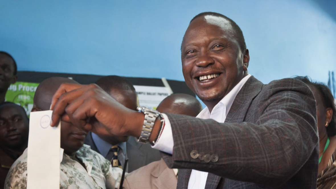 Kenya : le président Kenyatta confiant dans sa réélection
