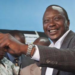 Kenya : le président Kenyatta confiant dans sa réélection