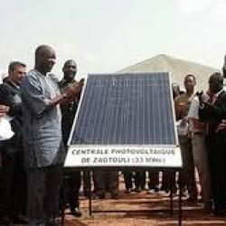 """Burkina : mise en route de la centrale solaire de Zagtouli pour """"très bientôt"""""""
