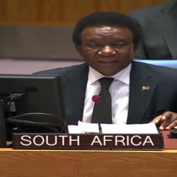 Désarmement: l'Afrique du Sud réitère son engagement au multilatéralisme et son soutien à l'ONU