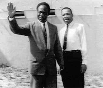 Kwame nkrumah and martin luther