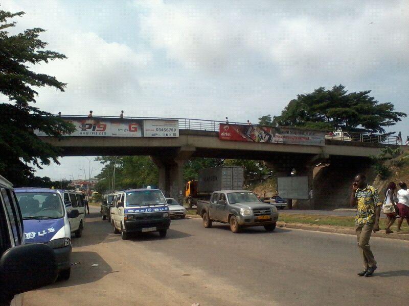 Pont d'Awendjé(Libreville Gabon)