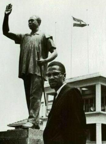Malcom chez nkrumah