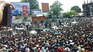 Manifestation devant l'ambassade libyenne à Bissau pour exiger la libération des migrants arrêtés en Libye