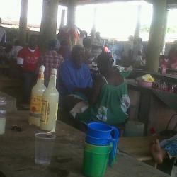 Marché de Mengomo(Guinée Equatoriale)