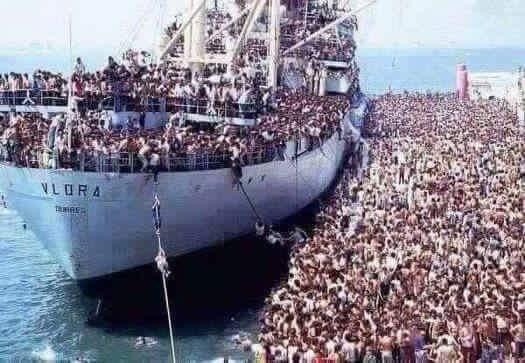 En images : retour en 39-45, quand les migrants étaient européens