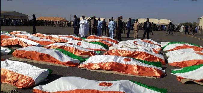 Niger : deuil national de trois jours à la mémoire des 71 soldats tués à Inates
