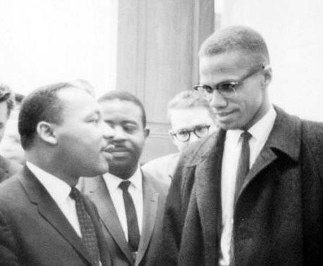 Mlk and malcolm x1