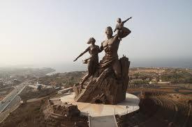 Monument de la renaissance africaine(Dakar Sénégal)