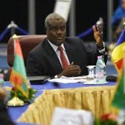 Le président de la Commission de l'UA en visite en Afrique du Sud, la ZLEC parmi les sujets de discussion