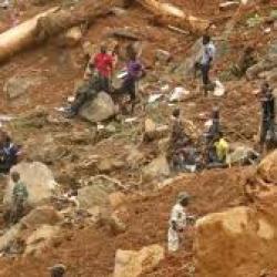 La Sierra Leone a grand besoin d'une aide humanitaire d'urgence après le glissement de terrain