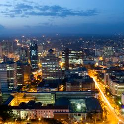 Nairobi by night(Kenya)