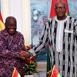 Le président burkinabè attendu lundi à Accra pour une visite de travail au Ghana