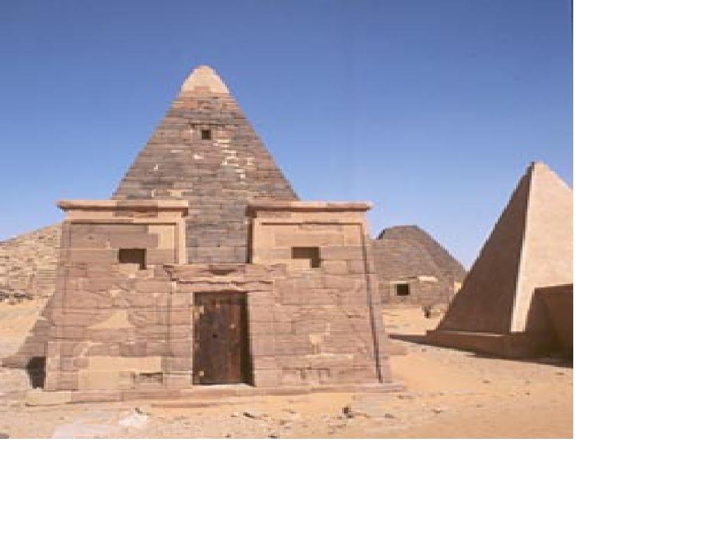 Pyramides de Napata(Egypte)