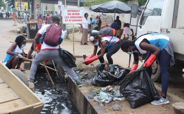 Centrafrique : les populations sont invitées à ne pas déverser des ordures dans les caniveaux