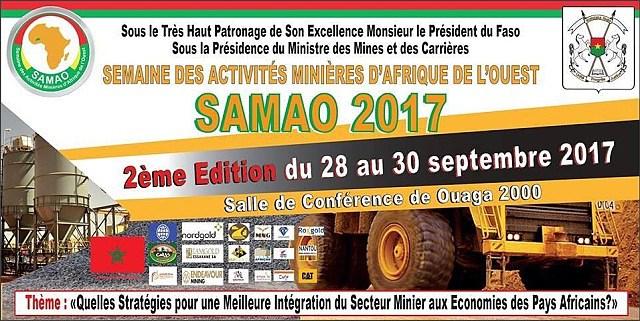 La 3e édition de la Semaine des activités minières d'Afrique de l'Ouest prévue fin septembre à Ouagadougou