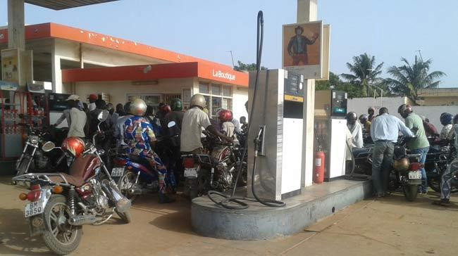 Station essence togo