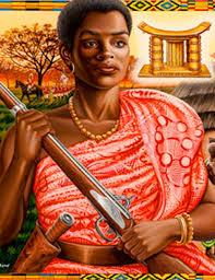 LES REINES AFRICAINES : YAA ASANTEWAA