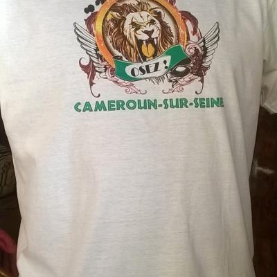 T-shirt Cameroun-sur-Seine