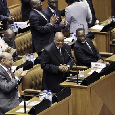 Zuma president